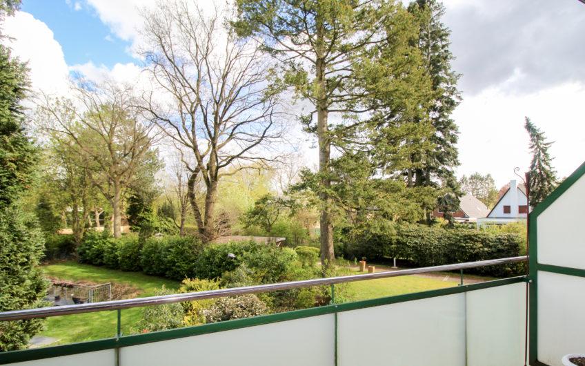 In Vorbereitung: Vermietung 2,5 Zimmer-Wohnung mit 2 Balkonen in Hamburg-Hummelsbüttel